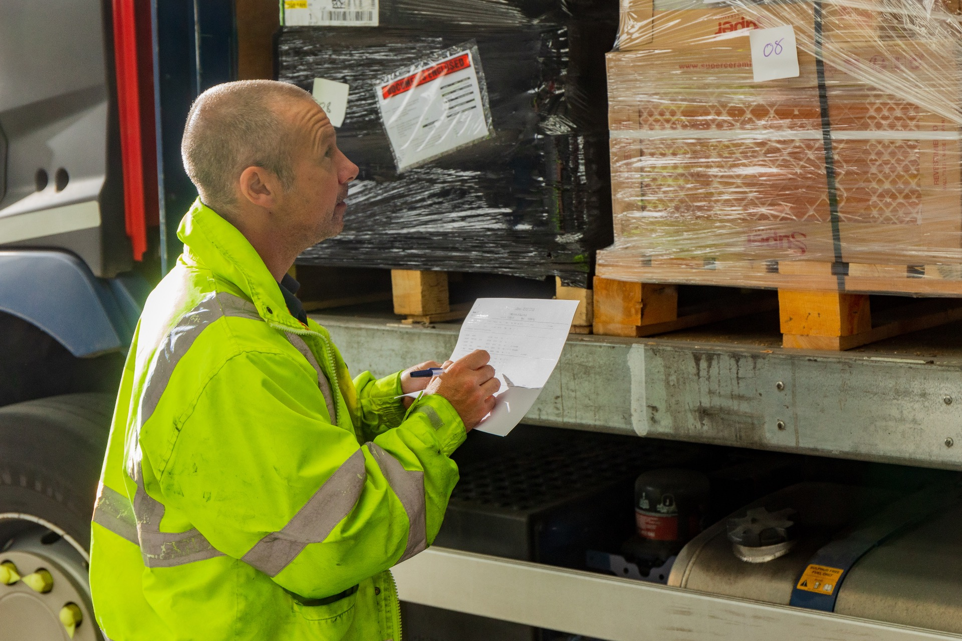 Mitchells can deliver, quarter, half or full pallets across the UK & Europe