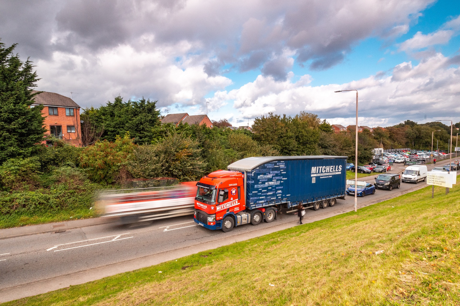 Mitchells delivering palletised freight across the UK & Europe