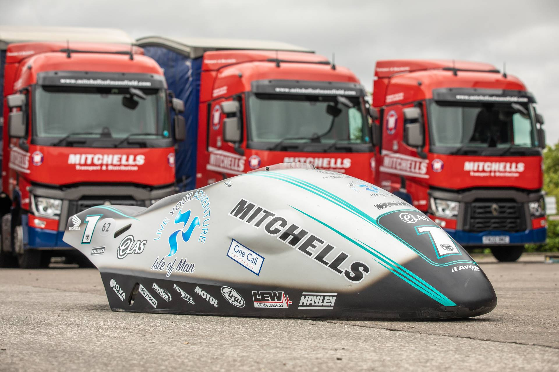 Mitchells Sponsor Sidecar World Champions the Birchall Brothers